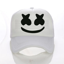 Load image into Gallery viewer, New Arrived marshmello face men baseball cap boy casual homme cap  Black White Hat Snapback Hat Women Cap