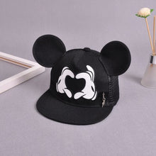 Load image into Gallery viewer, New Baseball Cap Children Mesh Snapback Summer Cap Cartoon Mickey Lovely Sun Hat Casquette Hip Hop Hat For Boys Girls