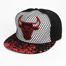 Load image into Gallery viewer, New Brand Bulls Hip Hop Cap Men Women Baseball Caps Snapback Solid Colors Cotton Bone European American style Style Fashion hat