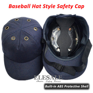 7edeea6ee2ecf New Bump Cap Work Safety Helmet Baseball Hat Style Protective Safety Hard  Hat For Work Site