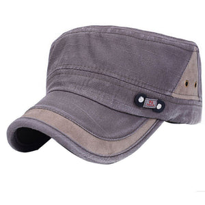 New Classic Men Women Adjustable Army Plain Vintage Hat Cadet Baseball Cap