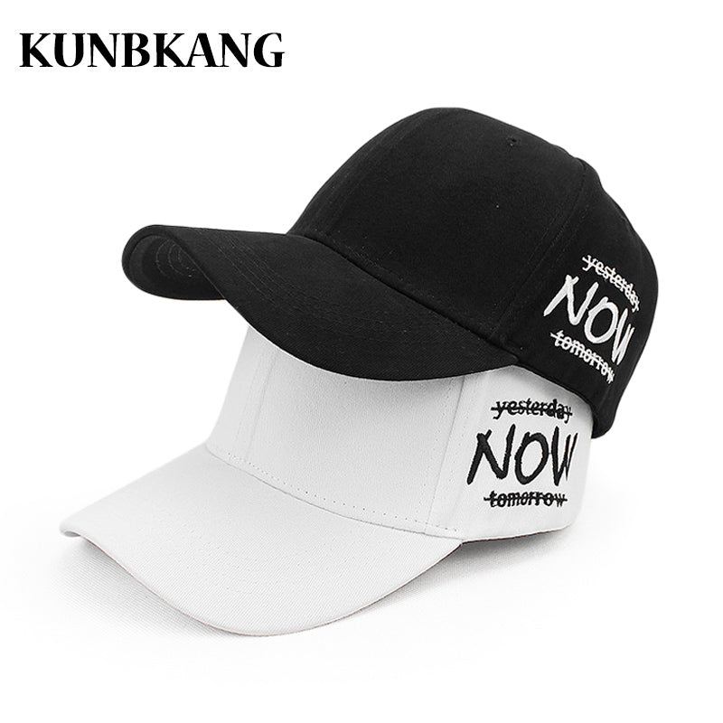 New Cot Baseball Cap Men Women Embroidery Letter Snapback Caps Gorras Adjustable Unisex Summer Solid Color Hip Hop Hats Bone