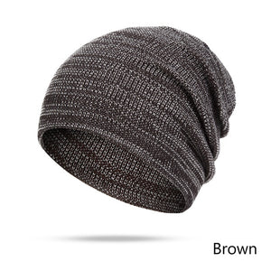 New Design Winter Hats Women Men Beanies Solid Color Autu Winter Knitted Hat  Cap Unisex Cot 06a798ddc0ce