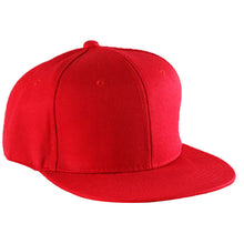 Load image into Gallery viewer, New Fashion Plain Blank Visor Hat Adjustable Hip Hop Cap Men Women Ladies Solid Color Baseball Cap Flat Cap