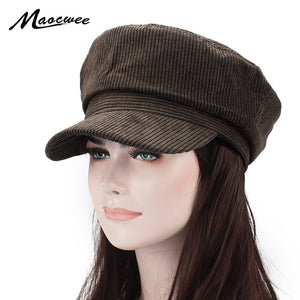 99d4645c5 New Fashion Sailor Ship Boat Captain Women Men Summer Military Hats Caps  Fashion Style Beret Black Plaid Pattern Berets Felt Hat