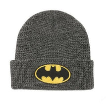 Load image into Gallery viewer, New Fashion dc comics batman logo beanies Casual Bonnet hat knitted hats for men and women Warm Unisex caps Skullies 2020