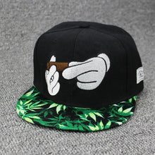 Load image into Gallery viewer, New Smoke Baseball Cap Dad Hat For Men Women Embroidery Hand Smoke Pattern Trucker Cap Weed Bone Golf Hat co style Hip Hop cap