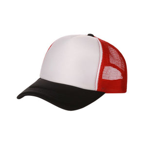 New Style Fashion Good-looking New Plain Baseball Cap Solid Trucker Mesh Blank Curved Adjustable Baseball  Hat