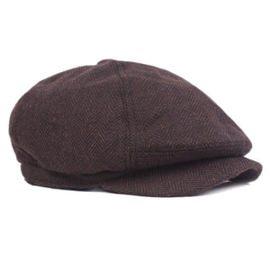 6e66ea514c2 New Tweed Gatsby Newsboy Cap Men Summer Golf Driving Flat Cabbie Unisex  Berets Peaky Blinders Hat