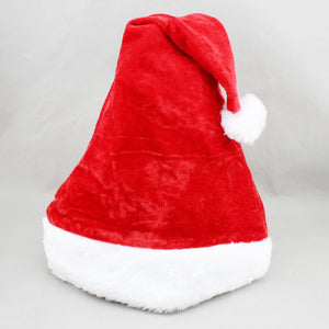 New Velvet Plush Santa Claus Hat Comfort Liner Christmas Xmas Costume Holiday Topper Best Price