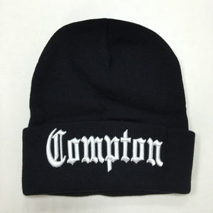 New West beach gangsta Comp Eazy-E Winter Warm Fashion Beanies Hats Knitted bonnet Caps Hip Hop Gorros Knit Hats Men Women