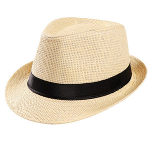 New Women Beach Hat Lady Hat Summer Hats Floppy Fold Straw Sun Hats For Women Man Chapeu Feminino Caps