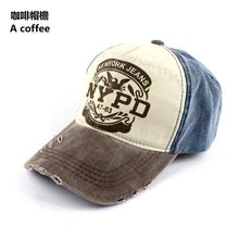 Load image into Gallery viewer, New Women Creative NYPD Pattern Old Worn Style Baseball Hat Casual Visor Hot Men Be Charm Outdoor Sports Baseball Cap