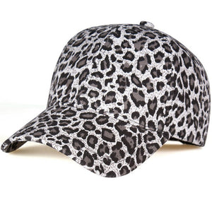 New Women's Baseball Hats Leopard print Snapback Cap Females Outside visor sun Cap Fashion Accessories Casquette Gorras