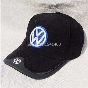 New arrived Men's cotton vw Volkswagen baseball cap fashion sun hat customer like blue black colours