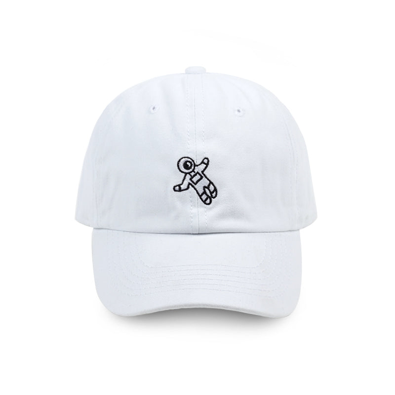 New fashion dad hat astronaut emberoidery baseball cap 4 colors available good quality snapback hats brand hat caps wholesale