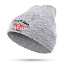 Load image into Gallery viewer, New fashion embroidery coconut tree beautiful letters ladies autumn and winter knitted cotton hats warm women ski caps Beanies