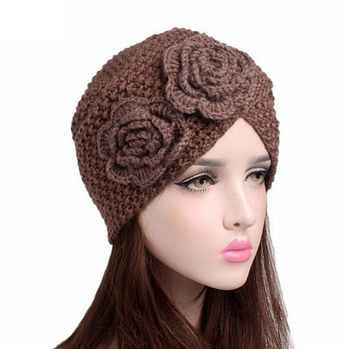 NewNew Arrivals Fashion Women Ladies Warm Winter Knitted Hat Cap female beret gorros mujer invierno chapeu femininodrop shopping