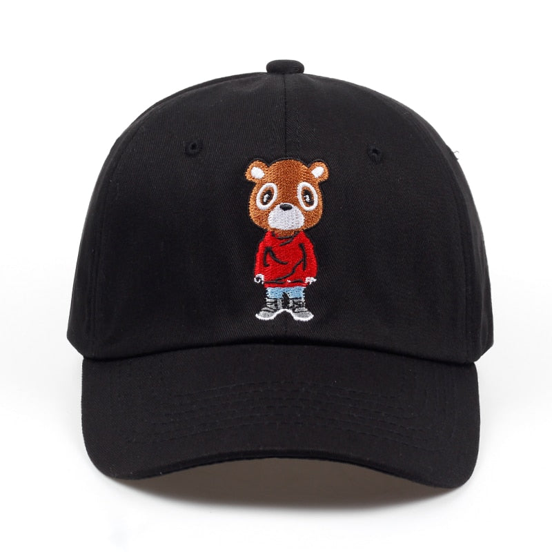 Newest Bear Dad Hat Lovely Baseball Cap Summer For Men Women Snapback Caps Unisex Exclusive Release Hip Hop Kanye West Ye Hat