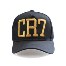 Load image into Gallery viewer, Newe Style Cristiano Ronaldo CR7 Hats Baseball Caps Hip Hop Caps Snapback Hats for Men Women High Quality bone masculino