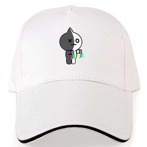 Oppa store  New BTS  Bangtan Boys BT21 cap hat baseball cap summer men and women tide cap