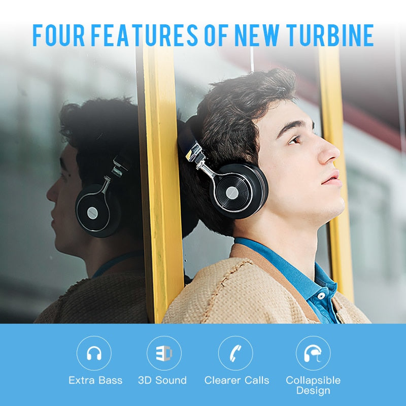 Original  T3 wireless stereo headphones portable bluetooth headset with microphone for Iphone Samsung  phone music