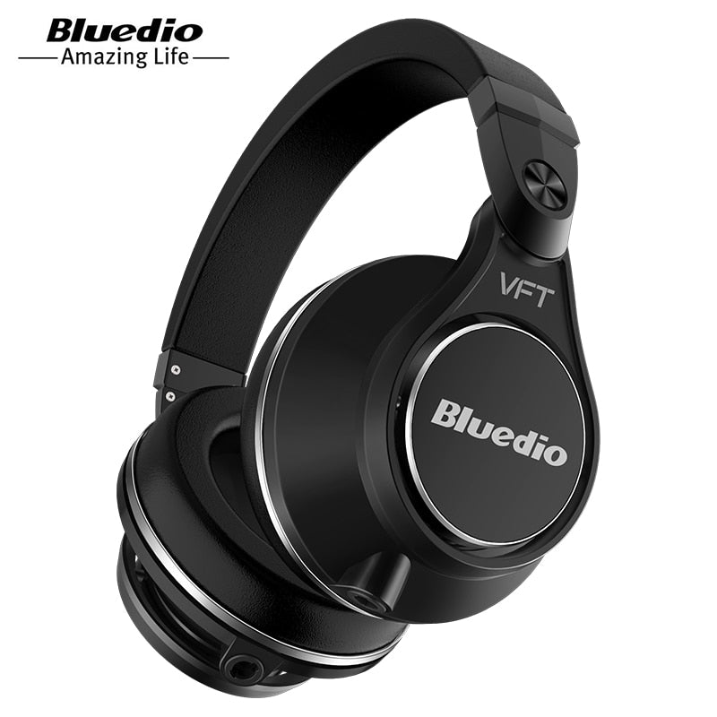 Original  UFO PLUS 3D bass bluetooth headset Patented 12 Drivers HiFi wireless headphones with microphone for music phone