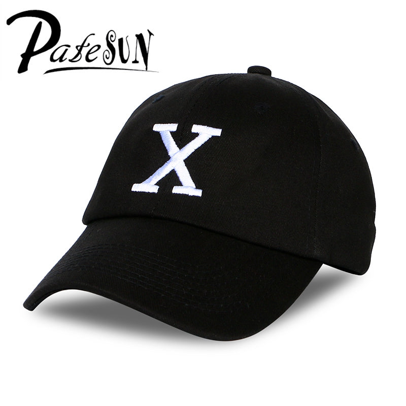 Latest  X Cap Snapback Women Black Custom Unstructured Malcolm Baseball CapS Dad Hat Any Means Commemorate Hat Men