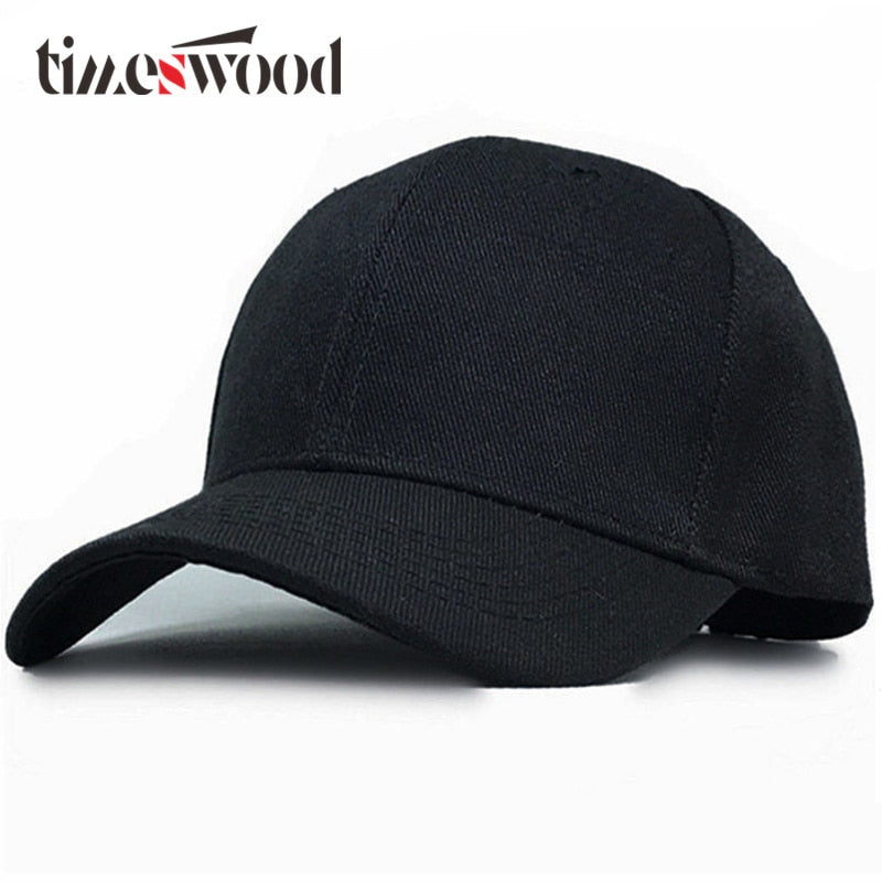 Plain Baseball Caps Men Women Hat Solid Black Pink Blue Red Cyan White  Strap Back Bones Gorras Summer Spring Fall Dropshipping ad6b84656d1