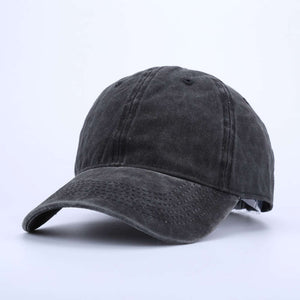Polo Style Cot Baseball Cap Plain Washed Hat Cat Adjustable Baseball Caps for women Blank Solid Baseball hat