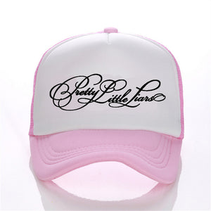 Pretty Little Liars band pattern printing net cap baseball cap Men women  Summer Trend Cap New 366a19659a0