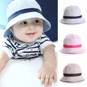 1-3Y Summer Baby Cot Bucket Hat Round Fishing Cap Infant Kid Newborn  Toddler Child 66eb6bd3343