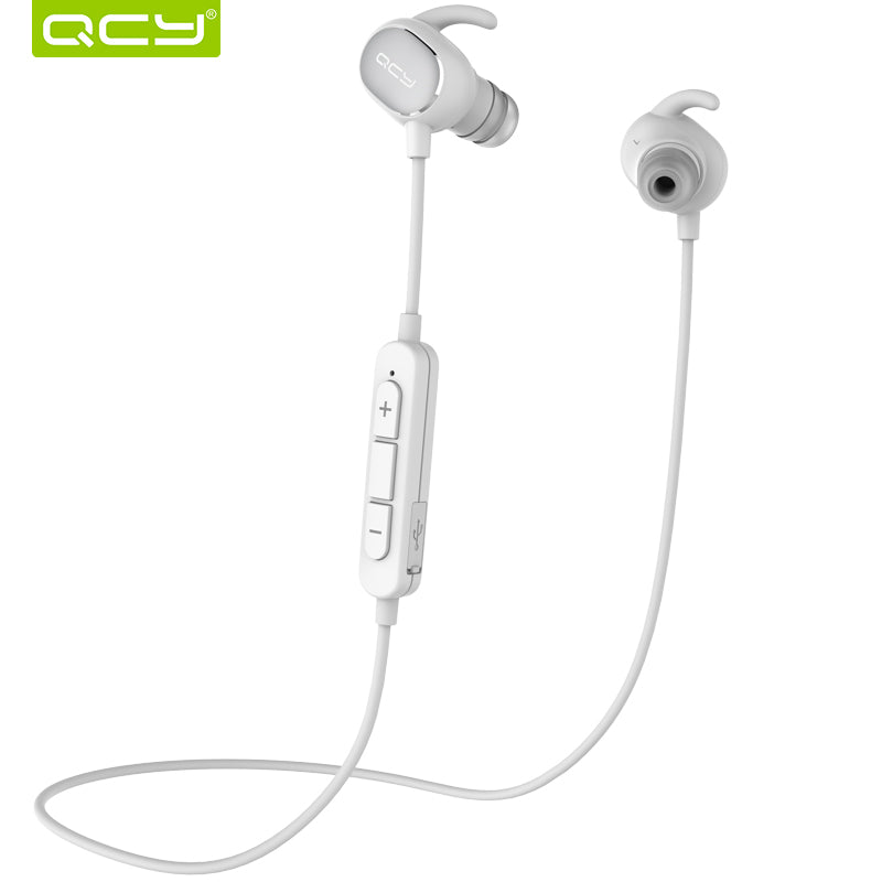 QY19 Sports Bluetooth Earphones Wireless Sweatproof Headset Music Stereo Earbuds Bluetooth V4.1 with Microphone
