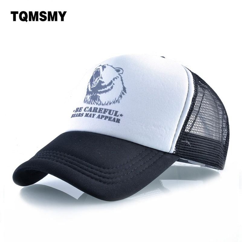Quick-drying baseball Cap men Outdoor sports sun hats for women Bear Snapback Caps Unisex Hip Hop hat women's Mesh gorro bone