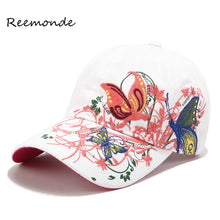 Load image into Gallery viewer, Summer Embroidered Baseball Cap Fashion Shopping Cycling Visor Sun Hat Women Lady Snapback Hip Hop Cot Sport Caps