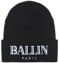 Load image into Gallery viewer, RI MALL 2017 Hip Hop Fashion BALLIN Cap Men Casual Hip-Hop Hats Knitted Wo Skullies Beanie Hat Warm Winter Hat for Women