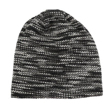 Load image into Gallery viewer, 2020 Man Beanies Striped Brilliant Guys Skullies Winter Thick Cotton Blends Hats For Gentleman Rianbow Cloud Chapeau