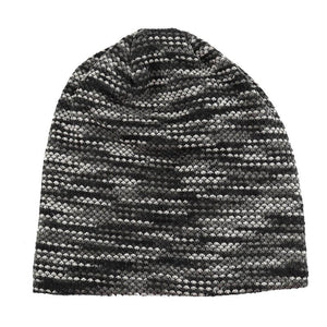 2020 Man Beanies Striped Brilliant Guys Skullies Winter Thick Cotton Blends Hats For Gentleman Rianbow Cloud Chapeau