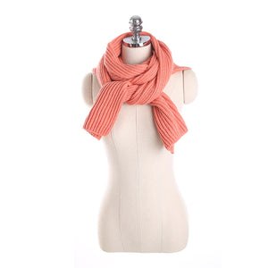 Acrylic Scarf Wo Hat Hooded Cape Knitted Shawl Winter Women Solid Scarf Take The Shoulder Strap Scarf Pashmina