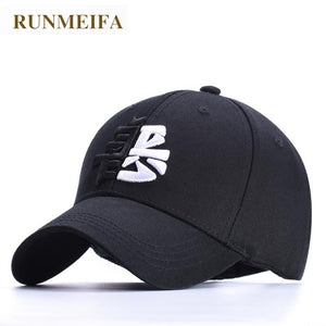 New Style High Quality Spring Baseball Hat Curved Canopies Cot Embroidery Chinese Charact Joker Hat Caps Men Gorras