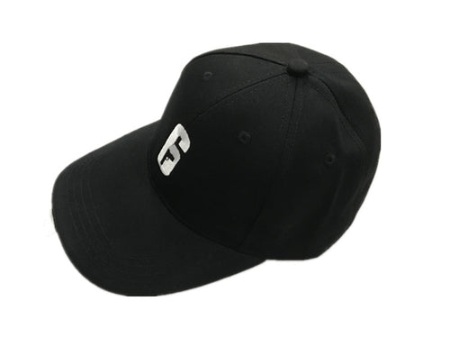 Rainbow Six Siege 6 LOGO Embroidery Topee Snapback Hat Black Baseball Cap
