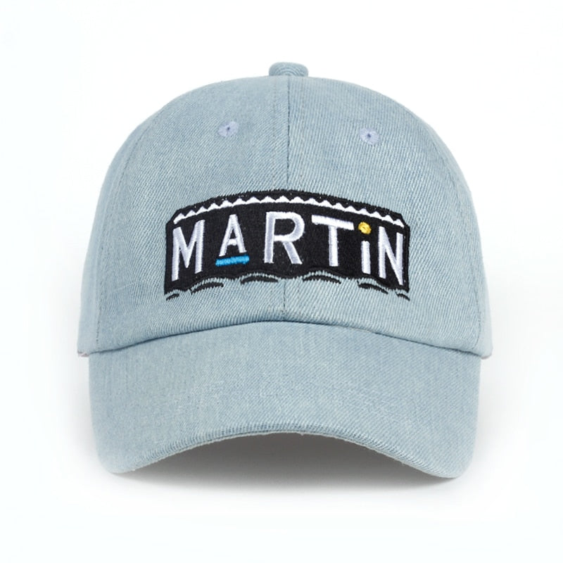 Retro Style Martin Show Cap Wash Cowboy Dad Hat Fans Snapback Hats Men Women Baseball Cap Adjustable Variety Show Men Women