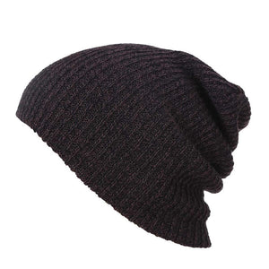 Cheap Winter Hats for Men Women Knit Casual Hat Crochet Baggy Beanie Ski Slouchy Chic Knitted Cap Skull Autumn Hat