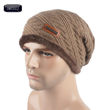 Load image into Gallery viewer, Men's New Style Fashion Winter Hat Skullies Beanies Man Hat Knit Hat Cap For Men Beanie Pure Color Headgear Cheap Caps