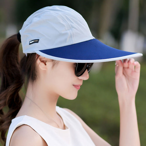 Summer Hat Women UV Protection Wide Brim Baseball Cap Mesh Ladies Hat Tennis Fishing Beach Sun Hats Men Casquette Homme