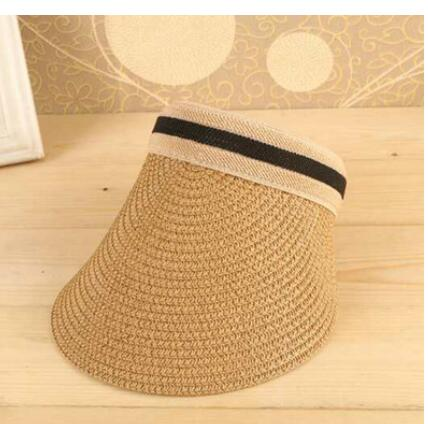 f30ee877 ... Load image into Gallery viewer, Cute Bow Sun Hat Female Beach Hat Wide  Brim Straw