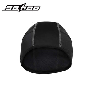 Sahoo Winter Outdoor Running Cap Unisex Fleece Warm Sport Hat Black Windproof Jogging Climbing Hiking Cycling Cap Headwear