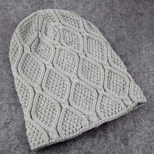 Amazig Solid Color Winter Beanie Men Women Hat Unisex Snow  Caps Knit Warm Skullies Cheap New