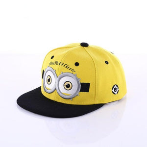 Minions Baseball Cap Boys Girls Kids Snapback Cap Summer Hat