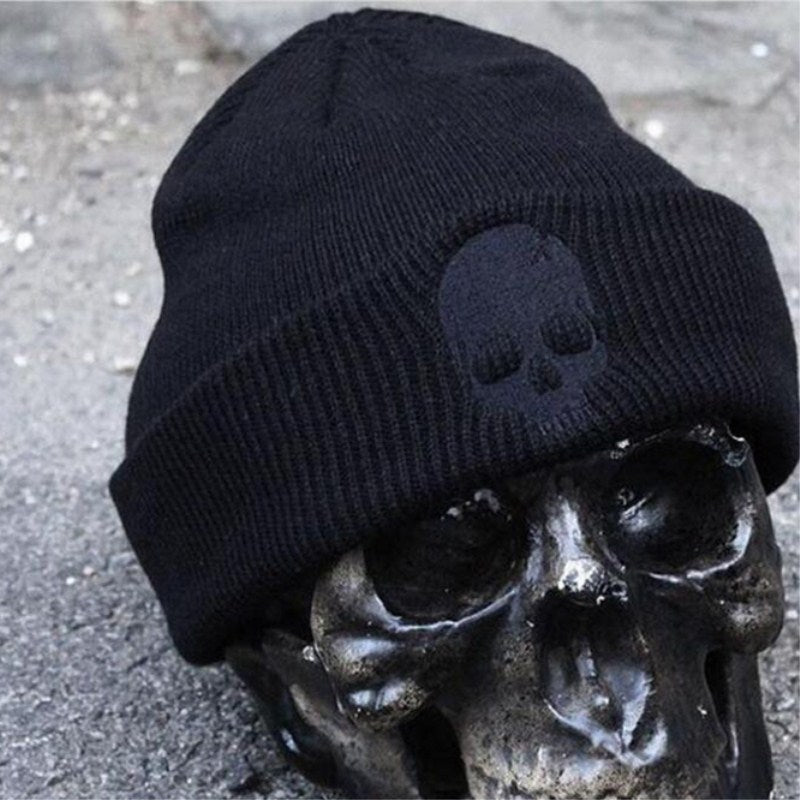 648aede3d54 Hot Selling Unisex Acrylic Knit Hat Winter Hats Skull Style Skullies ...